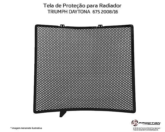 Protetor de radiador TRIUMPH DAYTONA 675 08/16