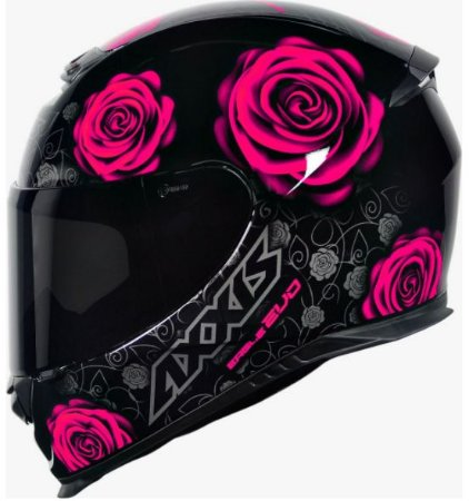 Capacete Axxis Eagle Flowers New Gloss
