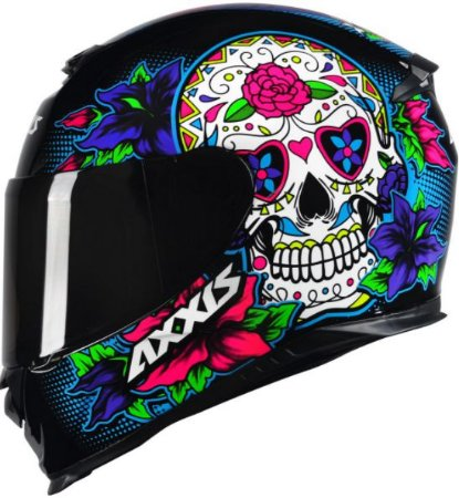 Capacete Axxis Eagle Skull Gloss