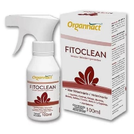 Solução Higienizadora Fitoclean Organnact 100ml