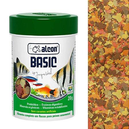 Ração Alcon Basic Peixes Ornamentais 20g