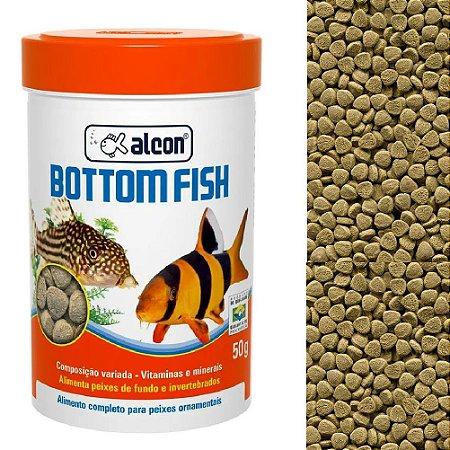 Ração Alcon Bottom Fish Peixes Ornamentais de Fundos 50g
