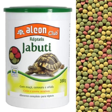 Ração Alcon Club Répteis Jabuti 300g