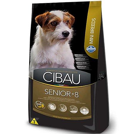 Ração Cibau Mini Breeds Cães Sênior 8+ Raças Pequenas 3kg