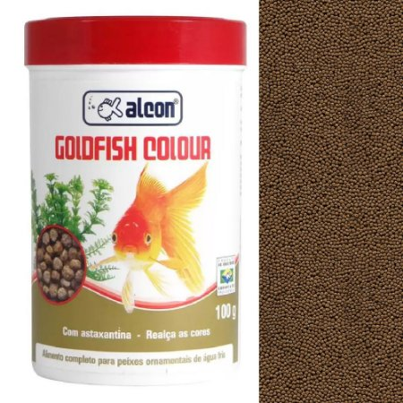 Ração Peixes Ornamentais Alcon Goldfish Colour 100g