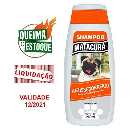 Shampoo Matacura Antisseborreico 200ml (VAL: 12/21)