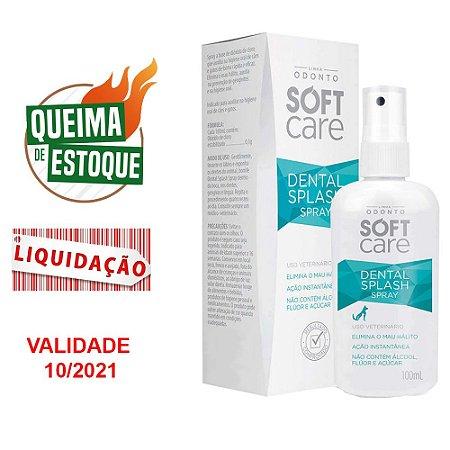 Pet society Soft Care Dental Splash 100ml (VAL: 10/21)