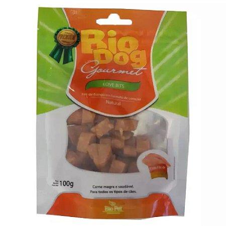 Petisco Biodog Gourmet Love Bits 100g