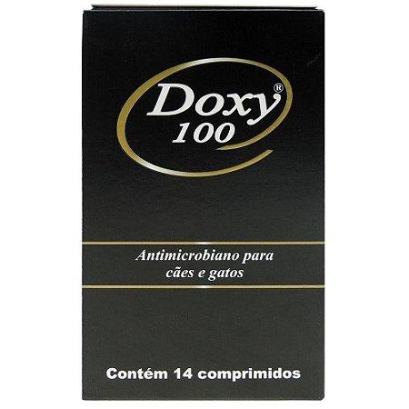 Antimicrobiano Doxy 100mg 14 Comprimidos - Cepav