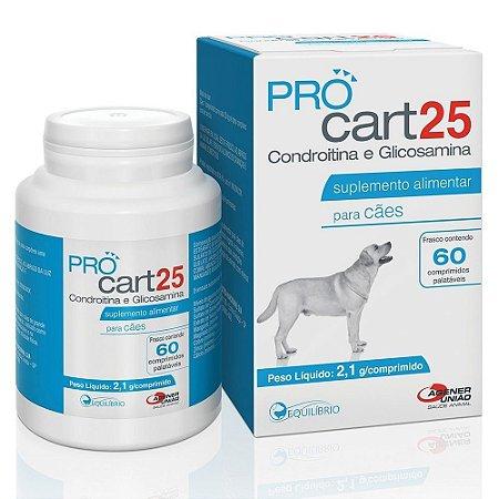 Procart 25 Suplemento Vitamínico 60 Comprimidos - Agener
