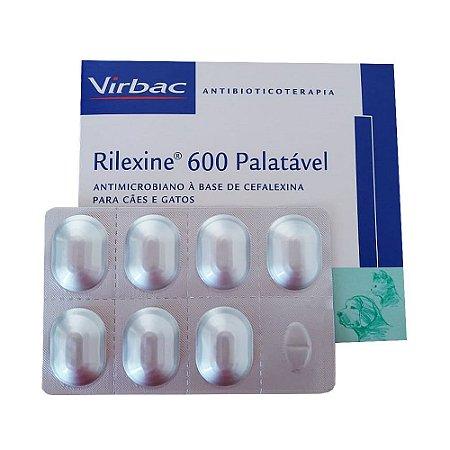 Antibacteriano Rilexine 600mg - 7 Comprimidos - Cartela Avulsa + Bula