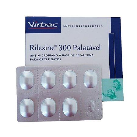 Antibacteriano Rilexine 300mg - 7 Comprimidos - Cartela Avulsa + Bula