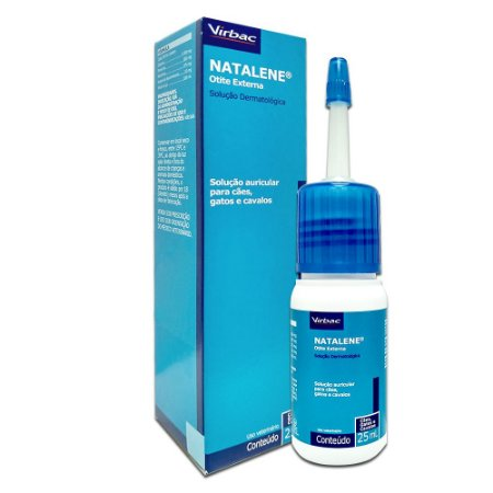Solução Tratamento Otológico Natalene 25Ml - Virbac