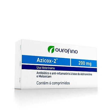 Azicox 200mg 6 Tabletes - Ourofino