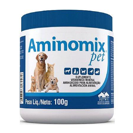 Suplemento Vitamínico Aminomix Pet Pó 100g - Vetnil