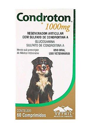 Suplemento Vitamínico Condroton 1000mg 60 Comprimidos - Vetnil