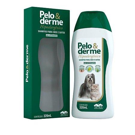 Shampoo Pelo e Derme Hipoalergênico 320ml - Vetnil