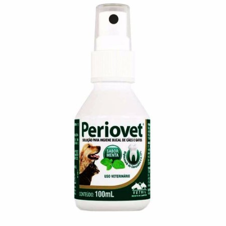 Solução Oral Periovet Spray 100ml - Vetnil