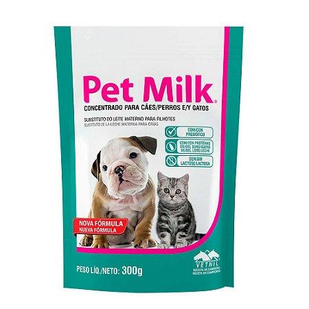 Pet Milk Sachet Substitutivo do Leite 300g - Vetnil