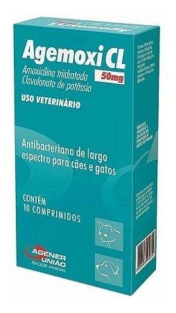 Agemoxi 50mg 10 Comprimidos - Agener