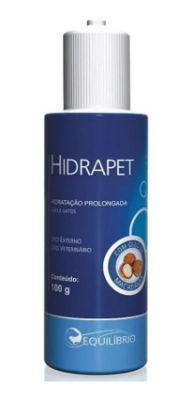 Hidratante Pós-banho Equilíbrio Hidrapet Cães e Gatos 100g - Agener