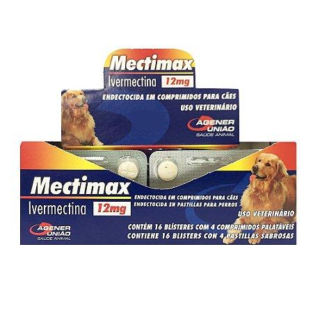 Mectimax 12Mg - Blíster 4 Comprimidos - Cartela Avulsa + Bula
