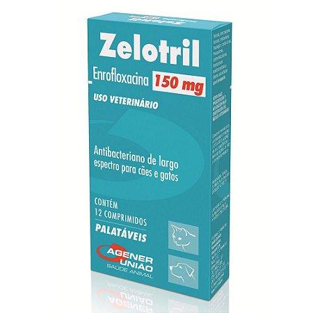 Antibacteriano Zelotril 150mg 12 Comprimidos - Agener