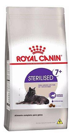 Alimento Para Gatos Acima 7 anos Sterilised 7,5kg - Royal Canin