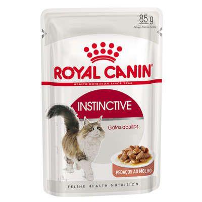 Ração Úmida Royal Canin Gatos Adultos Instinctive Wet 85g