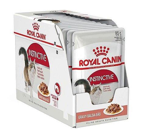Ração Úmida Royal Canin Gatos Adultos Instinctive Wet Combo 12un 85g Cada