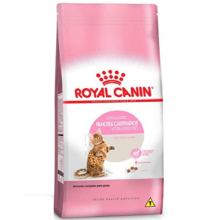 Ração Royal Canin Gatos Filhotes Castrados Kitten Sterilised 400g
