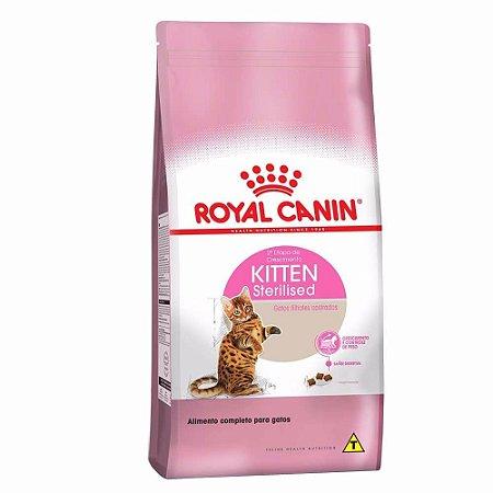 Alimento Para Gatos Kitten Sterilised 7,5kg - Royal Canin