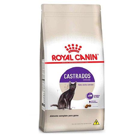 Ração Royal Canin Gatos Adultos Castrados Sterilised 400g