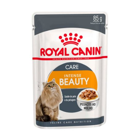 Ração Úmida Royal Canin Gatos Intense Beauty Wet 85g