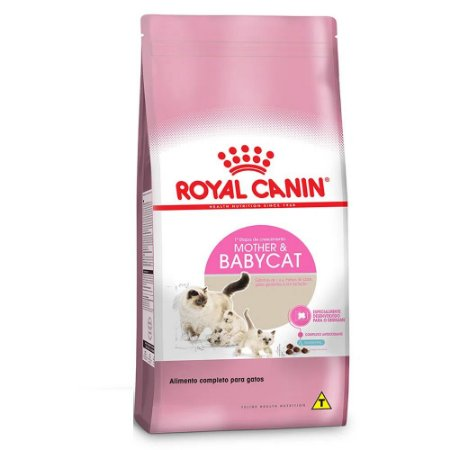 Ração Royal Canin Gatos Mother & Babycat Filhotes de 1 a 4 Meses 400g