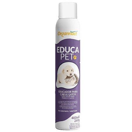 Educador Repelente Educa Pet Não Pode 400ml - Organnact