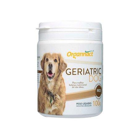 Suplemento Vitamínico Geriatric Dog 100g - Organnact