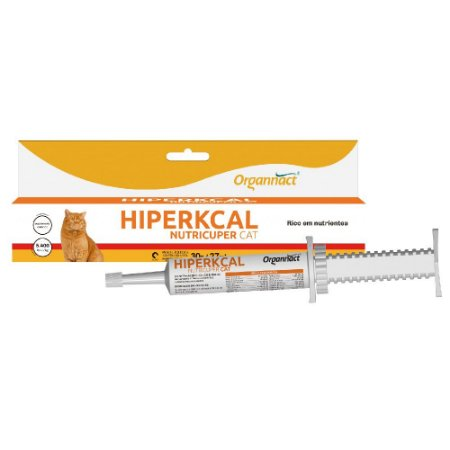 Suplemento Vitamínico Organnact Hiperkcal Nutricuper Cat Pasta 30g