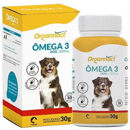 Suplemento Vitamínico Ômega 3 1000 Dog  30 Cápsulas - Organnact