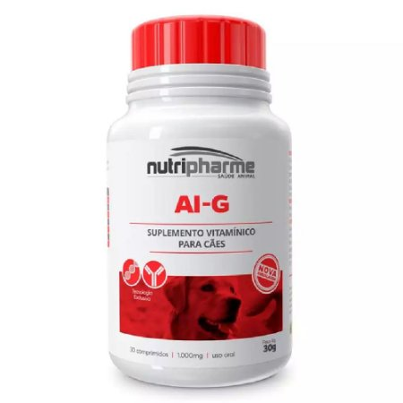 Suplemento Vitamínico Ai-g 30 Comprimidos 30g - Nutripharme