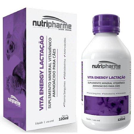 Suplemento Vitamínico Vita Energy Lactação 120ml - Nutripharme