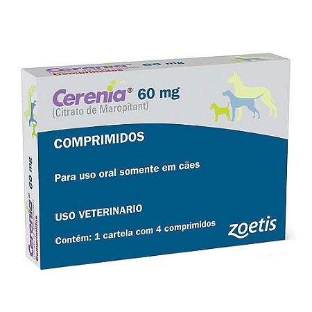 Cerenia Antiemético 60mg 4 Comprimidos - Zoetis