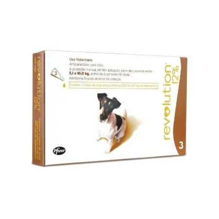 Revolution Cães 5,1 A 10kg Combo 3 Pipetas - Zoetis