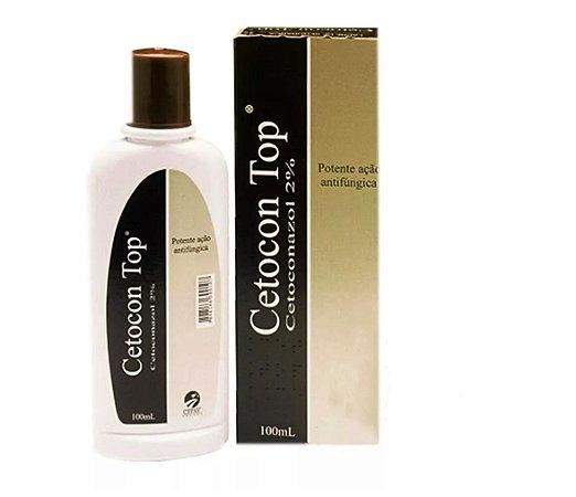 Shampoo Fungicida Cetocon Top 100ml - Cepav