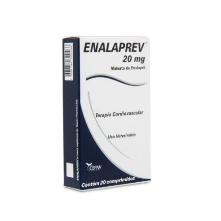Vasodilatador Enalaprev 20mg 20 Comprimidos - Cepav