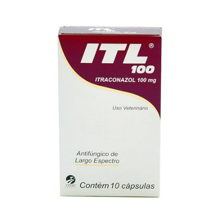Antifúngico ITL 100 10 Cápsulas - Cepav