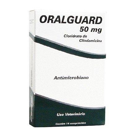 Antimicrobiano Oralguard 50mg 14 Comprimidos - Cepav