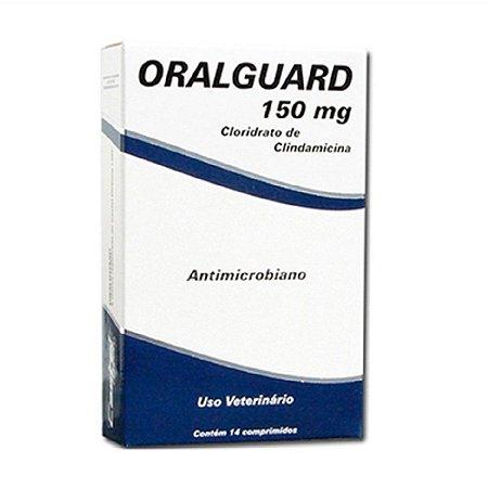 Antimicrobiano Oralguard 150mg 14 Comprimidos - Cepav