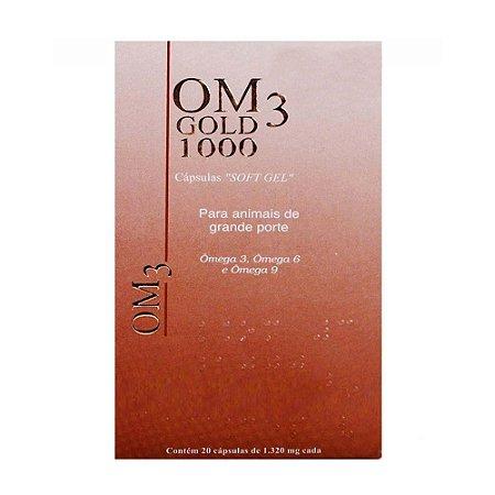 Suplemento Vitamínico OM3 Gold 1000 20 Cápsulas - Cepav