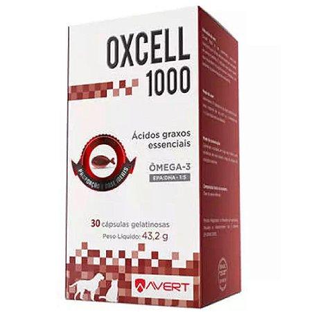 Suplemento Vitamínico Oxcell 1000mg 30 Cápsulas - Avert
